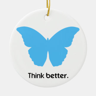 Think better with MorphOS Ceramic Ornament