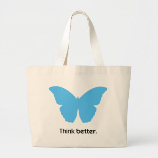 Think better with MorphOS Large Tote Bag