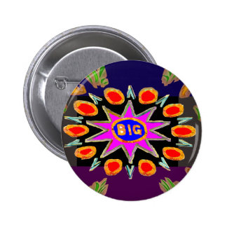 Think Big - Bigbang HighEnergy Art 2 Inch Round Button