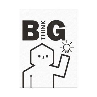 """Think Big"" Canvas Print"