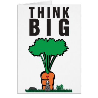 THINK BIG CARD
