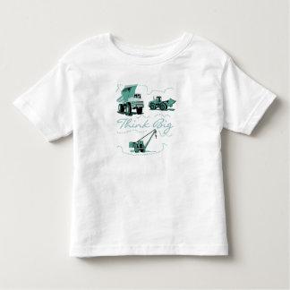 Think Big Construction T-shits and Gifts Toddler T-shirt