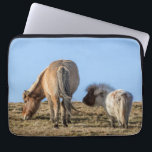 "Think Big Laptop Case<br><div class=""desc"">Tiddles dreaming and Haakon ignoring - together</div>"