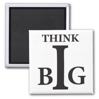 Think Big 2 Inch Square Magnet