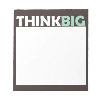 Think Big Memo Notepads