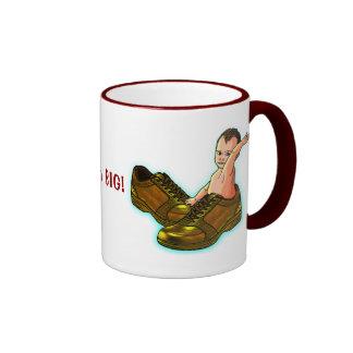 Think BIG! Ringer Coffee Mug