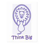 Think Big Post Card