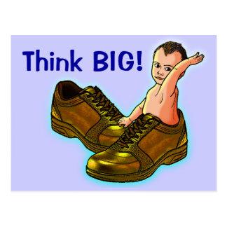 Think BIG! Postcard