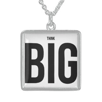 Think BIG Sterling Silver Necklace