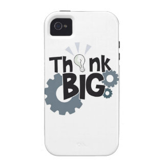 Think Big Vibe iPhone 4 Cases
