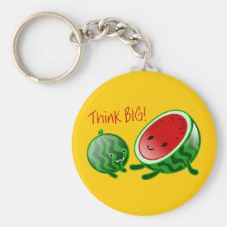 Think Big Watermelon Keychain