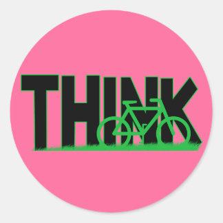 THINK Bike Sticker