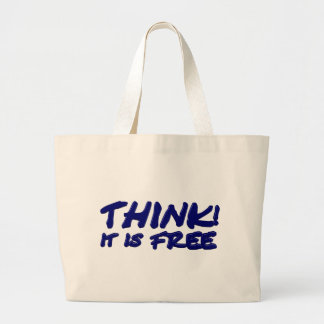 Think (blue) bags