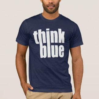 think blue T-Shirt