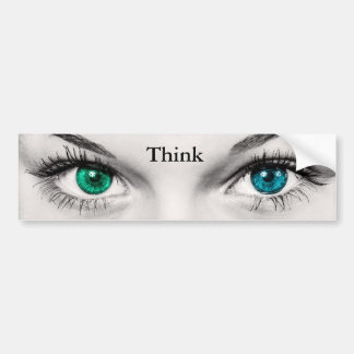 Think - Bumper Sticker