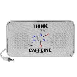Think Caffeine (Caffeine Chemical Molecule) Speaker System