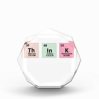 Think - Chemistry Acrylic Award