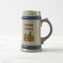 Think Chess Coffee Mugs
