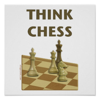 Think Chess Poster