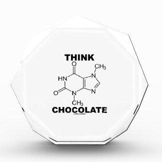 Think Chocolate (Theobromine Molecule Chemistry) Award