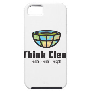 Think Clean - It thinks clean! iPhone SE/5/5s Case