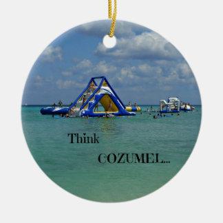 Think Cozumel! Ornament