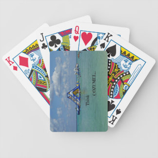 Think Cozumel! Bicycle Playing Cards