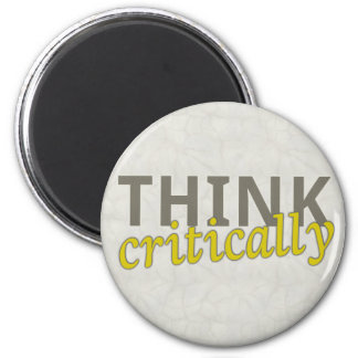 Think Critically Magnets