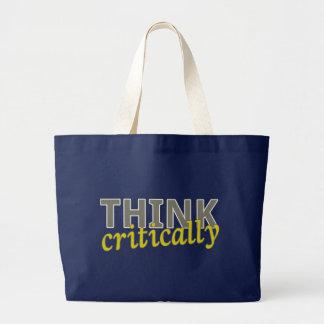 Think Critically Reusable Bags