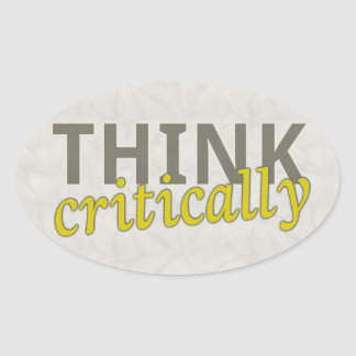 Think Critically Stickers