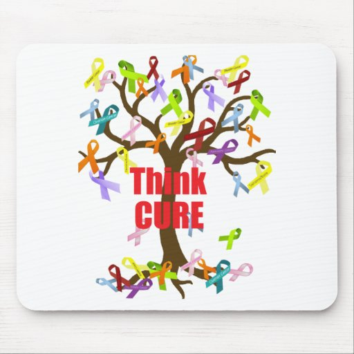 Think CURE (2).png Mouse Pad