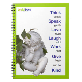 Think Deeply notebook