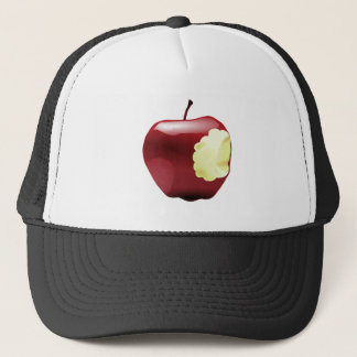 Think Different Apple bitten Trucker Hat