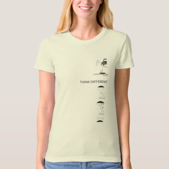 Think Different Think Diverse Think Creative T-Shirt
