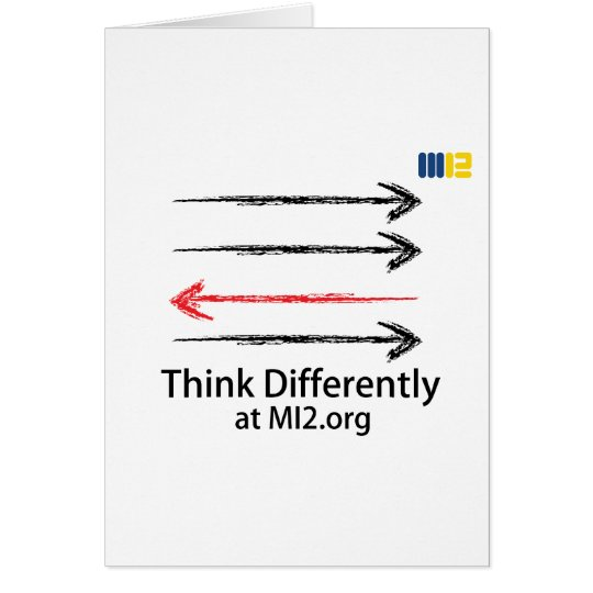 Think Differently - Headed In The Right Direction Card