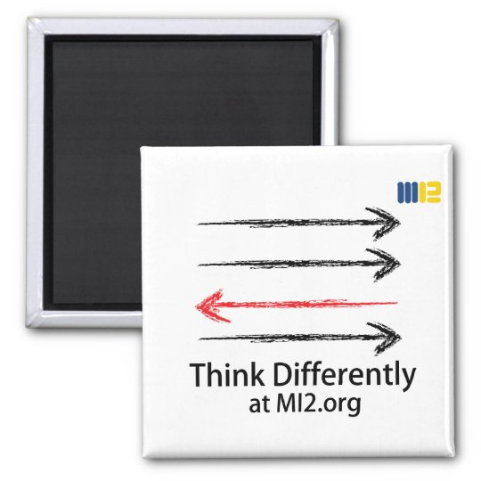 Think Differently - Headed In The Right Direction Magnet
