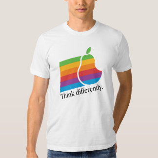 Think Differently - Retro Apple Parody T-Shirt