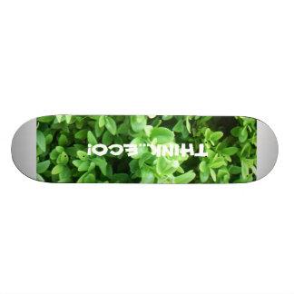 """THINK...ECO"" Skateboard"
