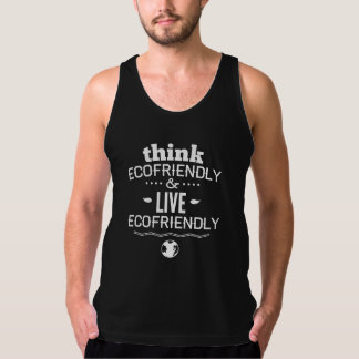 Think Ecofriendly And Live Ecofriendly American Apparel Fine Jersey Tank Top