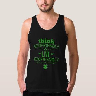 Think Ecofriendly And Live Ecofriendly Tank