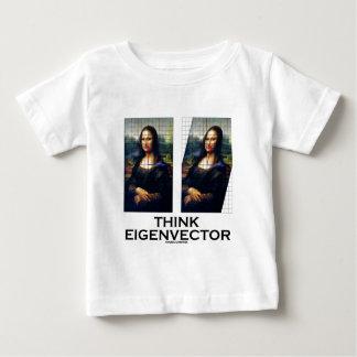 Think Eigenvector (Mona Lisa Restored) Baby T-Shirt