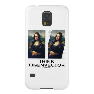 Think Eigenvector (Mona Lisa Restored) Cases For Galaxy S5