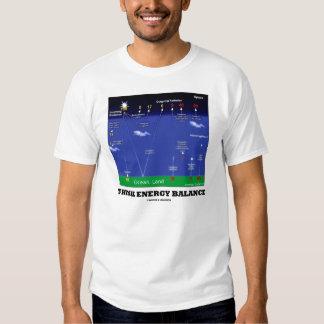 Think Energy Balance (Environmental) T Shirt