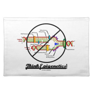Think Epigenetics! (Cross Out DNA Replication) Placemat