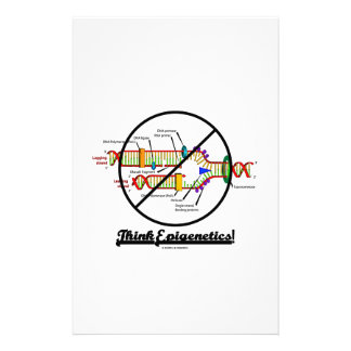 Think Epigenetics! (Cross Out DNA Replication) Stationery