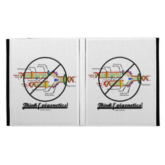 Think Epigenetics! (DNA Replication) iPad Folio Cases