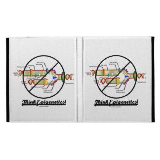 Think Epigenetics! (DNA Replication) iPad Folio Cover