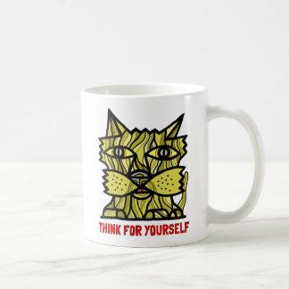 """Think For Yourself"" 11 oz Classic Mug"