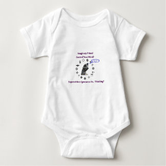 Think for Yourself avoid Superstitious Ignorance Baby Bodysuit