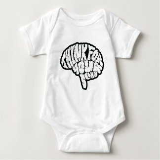 Think For Yourselves Baby Bodysuit
